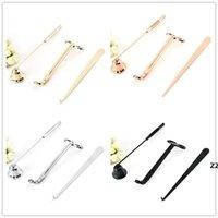 Conjunto de accesorios de vela 3 unids / lote Kit de herramientas de vela velas Snuffer Trimmer gancho gran regalo para los amantes de las velas perfumadas HWA8390