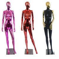 New Style Electroplated Mannequin Full Body Shiny Model Factory Customized