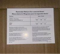 CDC 예방 접종 카드 4 * 3 인치 (10 * 7.6cm) 명함 파일 라미네이팅 용품 방수 수호자 홀더 가방 판매 대체 교체