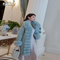 Design Essential Premium Temperament 100% Genuine Fur Women ...