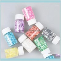 Kunstsalon Gesundheit Schönheitstaatural Mica Mineral Bunte Perllegierende Pulver Pigment Nagel Glitter Perle Epoxidharz Pailletten Dekoration1 Drop de