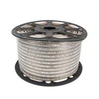 Tiras LED Light Strip 220V SMD à prova d 'água Waterstrip White White CA 220 V Volt para quarto Quarto com plugue da UE