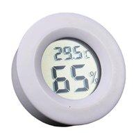 مصغرة المحمولة lcd ميزان الحرارة الرقمي الرطوبة الثلاجة الفريزر اختبار درجة الحرارة الرطوبة متر كاشف owe8141