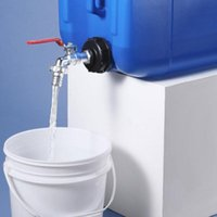 "Bewässerungsgeräte IBC-Kraftstofftank S60x6 Grobgewindekappe 1/2 """", 3/4 """", Barrel-Tonventil-Durchmesser 1 ""Kunststoff dauerhafter Adapter / Anschluss Fitti"