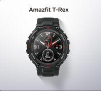 CES AMAZFIT T REX T-REX SmartWatch التحكم الموسيقى 5ATM الذكية ووتش GPS / Glonass 20 يوم بطارية عمر البطارية، MIL-STD لالروبوت