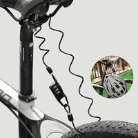 자전거 잠금 장치 MTB 자전거 오토바이 스쿠터 바퀴 모토 보안 안전 봄 로프 와이어 고품질 도구