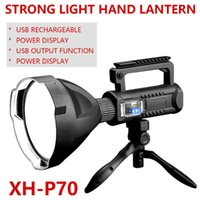 Light Light Light Lightlight Multi-Função Iluminação P70 Long-Funga Água Impermeável USB Recarregável Lâmpada Portátil Lanternas