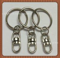 porte-clés porte-clés porte-clés accessoires avec pièces de voiture de cuivre soulevant de 25mm gaufré au milieu en forme de 8 en forme de 8