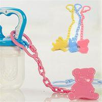 24cm Schnuller Halter Clip Leashes Kette Kunststoff Baby Schnuller Clip Leashes Case Kette Anti-Drop Halter Strap Baby Kauspielzeug