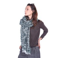 2021 New Brocade Rust Fringe Tassel Scarf Temperament Versatile Decorative for Women's Autumn Air Conditioning Shawl