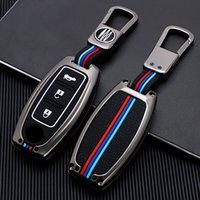 Porte-clés de voiture en alliage de zinc FOB Porte-titres Rogue X-Trail T31 T32 pour Infiniti Q30 Q50 Q60 Q70 QX50 QX60 QX70 QX80