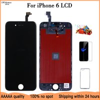 10PCS LOT High Quality No Dead Pixel LCD For iPhone 6 lcd Screen Display Digitizer Replacement