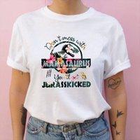 Hommes Vêtements Mode Summer Dinosaure T-shirt Mom Maman Fleur Floral Tee Femme Femme Top Dames Casual Imprimé