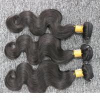 최고의 품질 브라질 바디 웨이브 3 번들 로트 브라질 머리 처리되지 않은 인간의 머리카락 weaves bunldes 빠른 배송