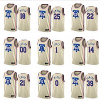2021Basketball Jerseys \\ RPiladelphia \\ R76ers Ben Simmons Joel Embiid Tobias Harris Danny Verde Qualquer jogador Pressionar Personalizado Jerseys