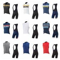 Капо команда велосипеда без рукавов Джерси жилет нагрудник шорты наборы велосипедов шорты ROPA Ciclismo мужчины лето быстрый сухой Pro велосипеда Maillot S20010304