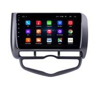 "9 ""Auto DVD Radio Player Android Auto Stereo con GPS per Honda Jazz City 2006 AC RHD"