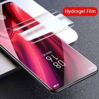 Screen Protectors Full Cover Hydrogel film For Xiaomi Redmi Note 8 9 Pro 7 8T 9S 9A Mi Note 10 Lite A2 A3 9T Poco X3 soft