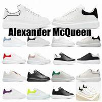 [상자 포함] 2021 디자이너 고품질 남성 여성 Espadrilles 플랫 플랫폼 대형 운동화 신발 Espadrille 평면 운동화 36-46 i Alexander mcqueens mqueen queen