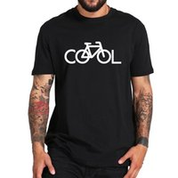 Men's T-Shirts Cool Bicycle T Shirt Design Funny Graphic 100% Cotton EU Size Summer Short Sleeve Tops Tee Homme