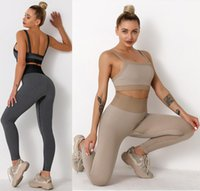 Tracksuits Designer yoga wear Womens Suit Gym outfits Sportswear Fitness Align pant Leggings workout set tech fleece woman sexy new style girls active sets crop top