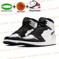 Yüksek 1 1 S OG Işık Duman Gri Büküm Basketbol Ayakkabı Bred Royal Gümüş Toe Karanlık Mocha UNC Patent Gölge Şanslı Yeşil Chicago Orta Erkekler Sneakerszyyv