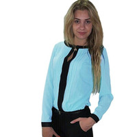 Moda donna camicetta chemise femme 2021 chiffon a maniche lunghe manica lunga casual blusa feminina goccia # 30 camicie da donna camicette