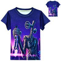 2021 summer boys short-sleeved T-shirt Children's tops Baby Kids Clothing