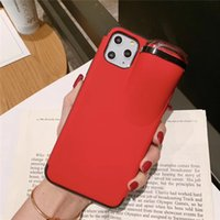 Creative Design Earphone Phone Cases For Apple Airpods Iphone 6 7 8 Plus XS XR 11 Pro Max Airpods-Holder 2 in 1 Case