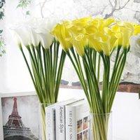 造花の結婚式の装飾PUカーラリの花束ホーム秋の植物の偽の花#b10装飾的な花輪