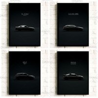 Paintings Modern Design Black Art Picture World Famous Car Series Quality Canvas Painting Poster Fan Room Living Sofa Wall Home Decor