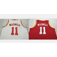 Benutzerdefinierte Bucht Jugendfrauenweinlese # 11 Vernon Maxwell 1993-97 College Basketball-Jersey Größe S-5XL oder benutzerdefinierte Neiner Name oder Nummer Jersey