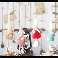 Festive Party Supplies & Gardenlove Angel Plush Year Cute Elf Doll Tree Pendant Christmas Decorations For Home Decor Drop Delivery 2021 Rnmmf