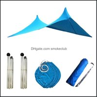 Shelters Cam Sports & Outdoorswaterproof Shelter Sun Shade Canopy Summer Travel Tent Hiking Mtifunction Holiday Beach Awning Rec Folding Por