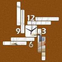 Wall Clocks Sale Watch 3d Home Decor Living Room Modern Design Mirror Art Fashion Sticker Safe