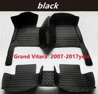 for SUZUKI Grand Vitara 2007-2017year Custom Car Splicing Floor Mats Waterproof Leather Wear-resistant Non-toxic Tasteless and Environmentally Friendly Foot Mats