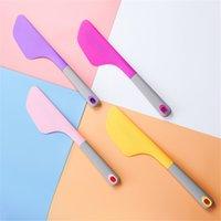 큰 실리콘 크림 베이킹 스크레이퍼 과자 도구 비 스틱 버터 믹서 Smoother Spreader 내열성 주걱 GWB5987