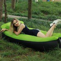 Pads all'aperto e beach da bagno da bagno portatile letto gonfiabile portatile trekking nel legno fuoristrada Air Casual Lazy Sofa