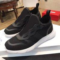 2021 Designer B21 Sneaker Black Strickstiefel Männer Frauen Socken Mesh Lace-up Outdoor Trainer Runner Graffiti Schuhe mit Kasten Top Qualität