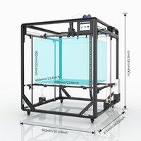 Stampanti Tronxy X5SA-600 Estrusore Direzione diretta ESTRUDER A grande stampa Dimensione 600 * 600mm Guida Guida Versione Auto Livello Auto Sensore Stampante 3D ad alta precisione