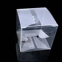 Gift Wrap 10pcs lot Small 9 Sizes PVC Box Rectangle Clear Display Cosmetic Crafts Packaging Transparent Plastic Boxes
