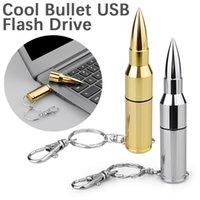 Металлические 3D Pullet Flash Drives Портативная палка памяти USB 2.0 Thumb Driver 4G 8G 16G 32 ГБ 64 ГБ