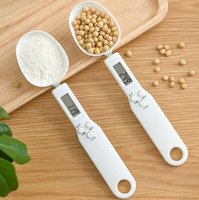 500g 0.1g Digital Measuring Food Scale Spoon with LCD Display Electronic Scales Baking Supplies Kitchen Accessories DHL 3LVN