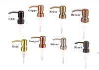 28/400 Pompe per dispenser di sapone Oro Brass Bronzo Bronzo Bronzo RUSCUR RUST 304 Acciaio inox Pompa liquido Jar non incluso BWE6618