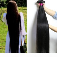 28 30 32 34 36 40 Paquetes rectos brasileños no procesados 10-26 pulgadas Cuerpo Agua profunda onda profunda Kinky Curly Hair Extensiones