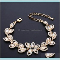 Beaded, Strands Jewelrydesigners Jewelry Bridal Bracelet Crystal Lady Diamond Bracelets Brj88 Drop Delivery 2021 1C7Zf