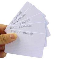 10pcs / lot Proximité 125kHz RFID Smart Card sans contact TK4100 EM4100 ID Puppy Blanc Plastic Cartes de contrôle d'accès en PVC En lecture seule