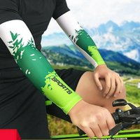 Elbow & Knee Pads 1PC Compression Cycling Arm Sleeves Sports Running Warmer Summer Sun UV Protection Basketball Volleyball Tennis Cover