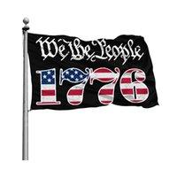 Wij de mensen Betsy Ross 1776 3x5ft vlaggen 100D Polyester Banners Indoor Outdoor Levendige Kleur Hoge Kwaliteit met twee Messing Grommets GWD9159