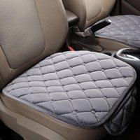 Car Seat Covers Cushion Plush Soft Non-slip Massage Warm Cover Auto Protector Breathable Pad 50*48cm